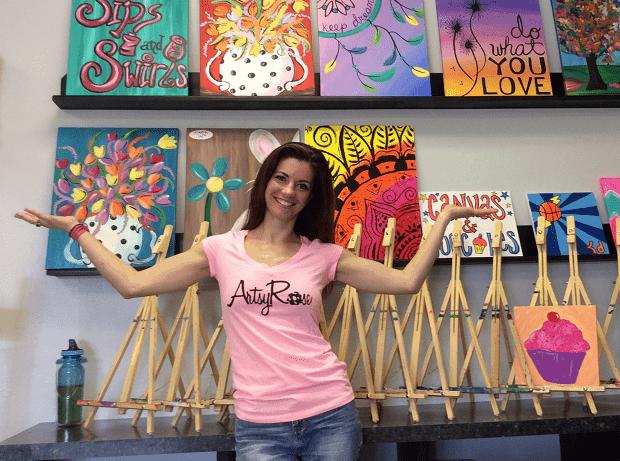Meet Artsy Rose at the EarthGlow Market November 2015