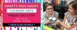 Krafty Kids Night at Artsy Rose Academy