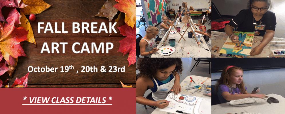 Fall Break Art Camp OKC Edmond Metro Area
